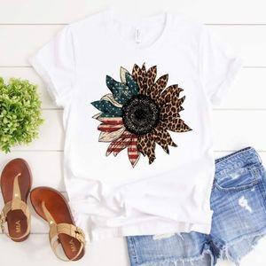 Bella Canvas Patriot Sunflower Tee